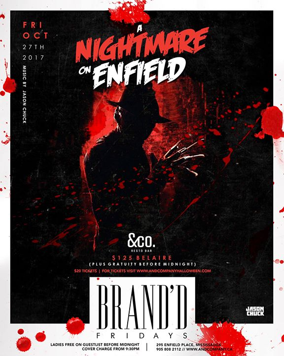 BrandD Fridays - A Nightmare on Enfield