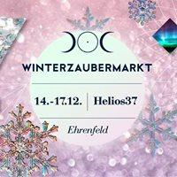 Rausgegangen Bhne auf dem Helios &amp Selene Winterzaubermarkt