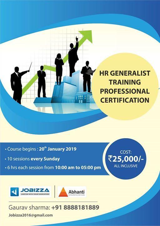 HR Generalist Training Course at Abhanti Consultancy