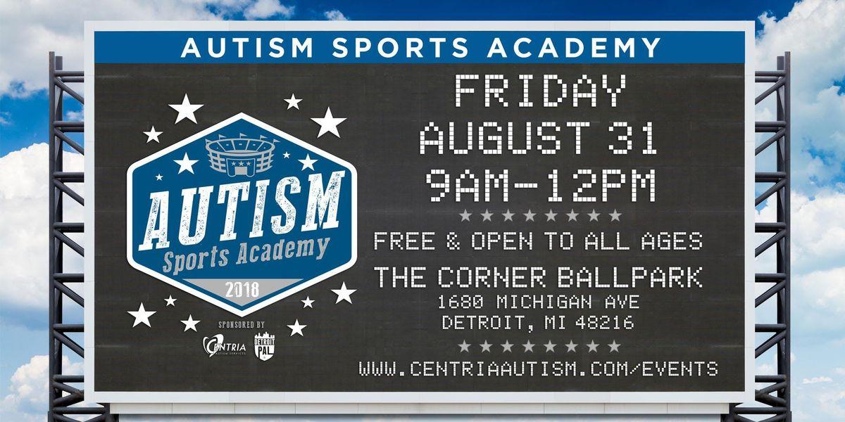 Autism Sports Academy  Presented by Centria Autism Services & Detroit PAL
