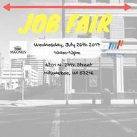 Manpower x Maximus Job Fair July 26th