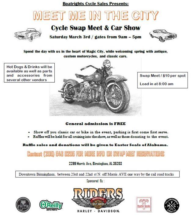 Cycle Swap Meet Bike Car Show At Morris Ave Jefferson County - Car show birmingham al