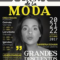 Feria de la moda en Getxo