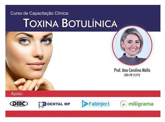 Curso Capacitao Clnica Toxina Botulnica