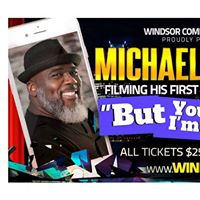 Michael Geeter Comedy Stand up Special Filming in Windsor