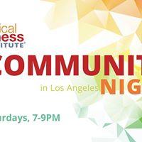 Radical Aliveness Community Night