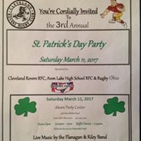 St. Patrick Days Fundraiser -March 11 2017 Ahern Party Center