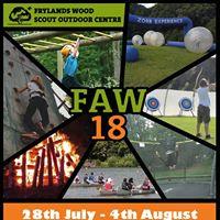 FAW 18 - Frylands Wood Activity Week