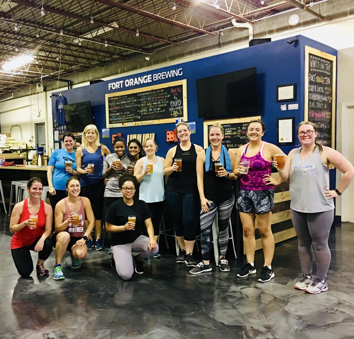 Tax Day HIIT The Taps- Brewery Boot Camp