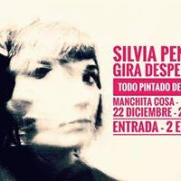 Silvia Penide en concierto en el manchita cosa