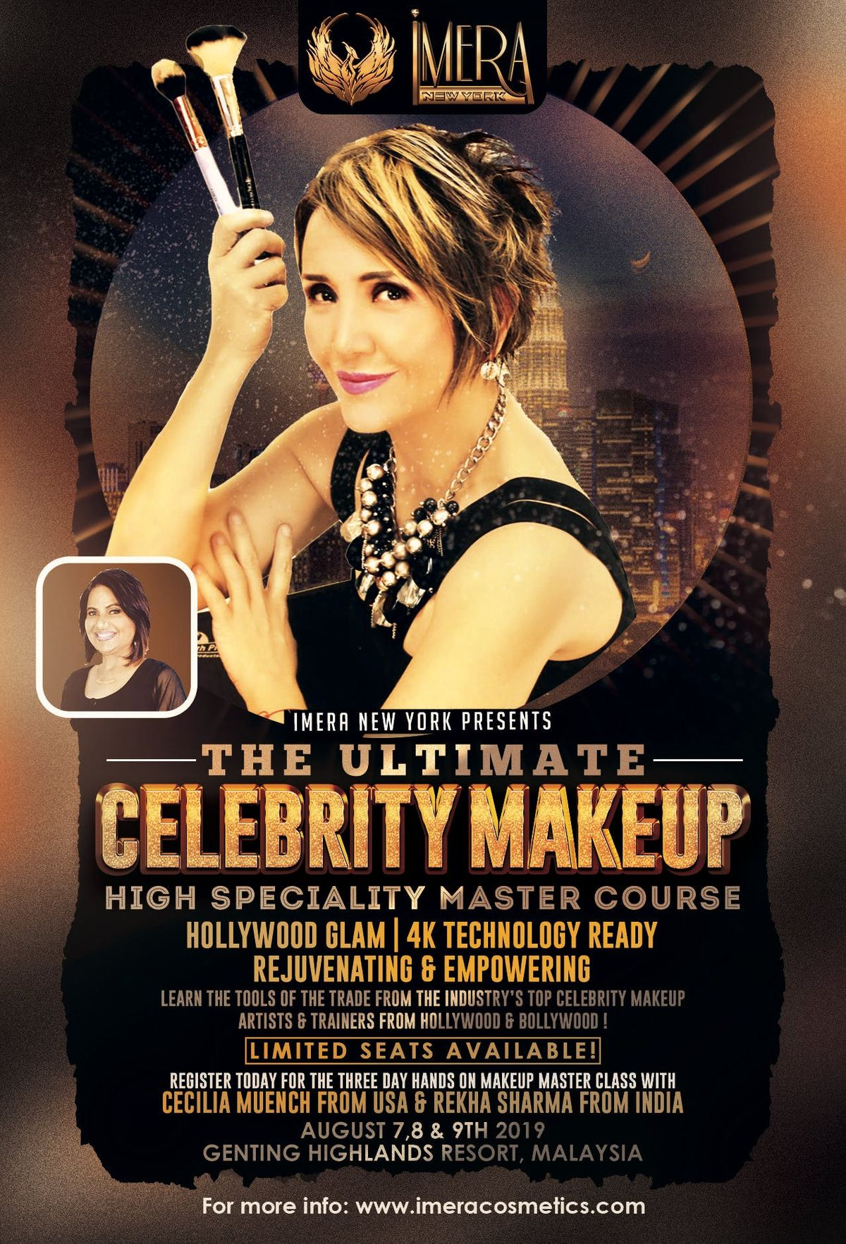 Hollywood- Bollywood Celebrity Makeup Masterclass at Grand Ion