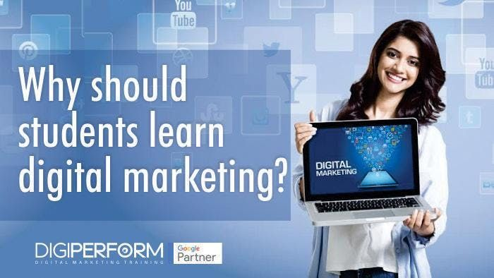 One month free training on digital marketing with internship and immediate JOB