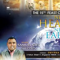 15th Feast of Tabernacles