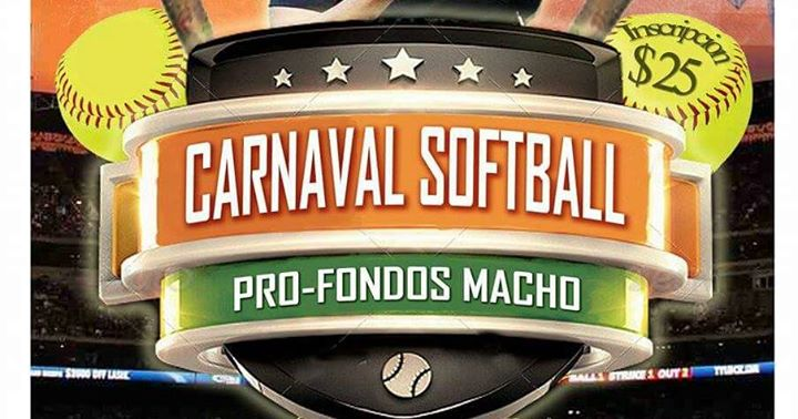 Carnaval de softball macho at parque de pelota bo rio for Rio grande arts and crafts festival 2016