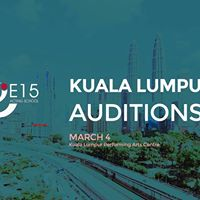 EAST 15  Auditions in Malaysia