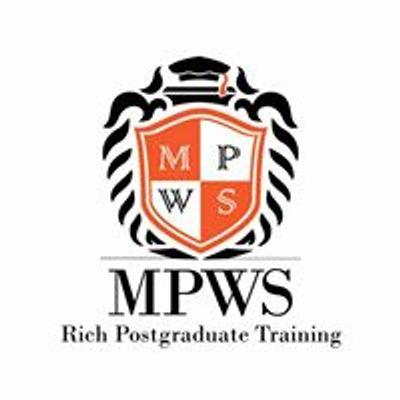 Malaysian Postgraduate Workshop Series - MPWS