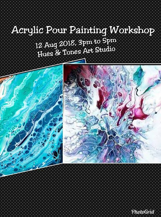 Acrylic Pour Painting Workshop