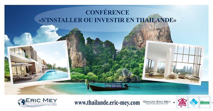 Confrence sinstaller ou investir en Thalande  Nice