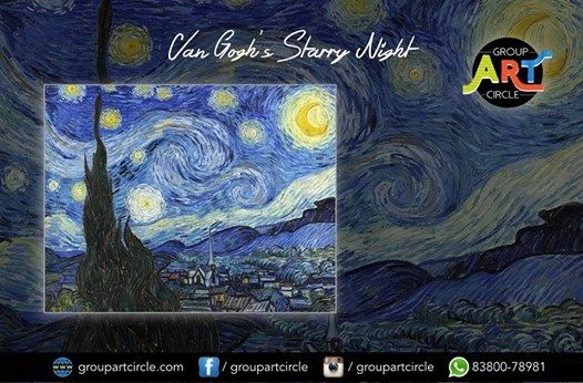 Van Goghs Starry Night - Art Party (KP)