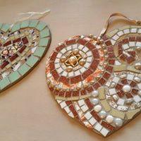 Make a Vintage Heart Mosaic - Workshop