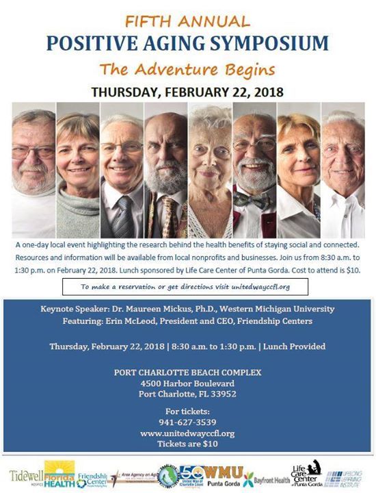 Positive Aging Symposium at Port Charlotte Beach Park, Port