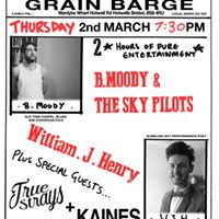 B.Moody and the Sky Pilots  William J. Henry at Grain Barge