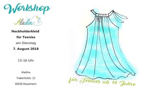 Workshop Nah Dir Dein Strandkleid Ab 14j Di 07 August 2018 At