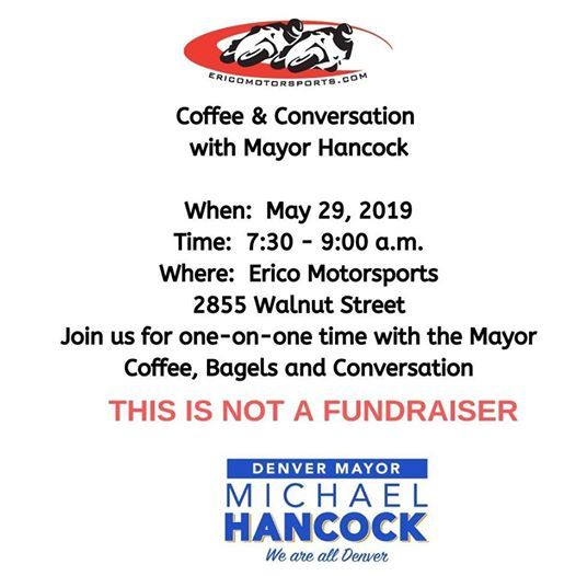 Coffee and Conversation with Mayor Hancock