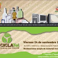 RECICLATol 2017 Delegacional  San Pablo Autopan