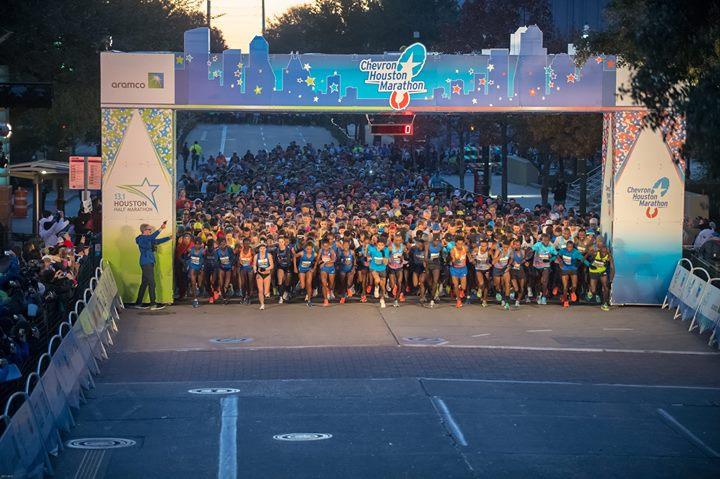 2019 Chevron Houston Marathon and Aramco Houston Half Marathon
