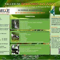 Taller de Monitoreo Biologico