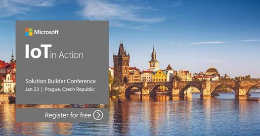 IoT in Action Solution Builder Conference - Prague