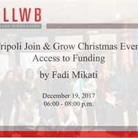 Tripoli Join &amp Grow Christmas Event Access to Funding