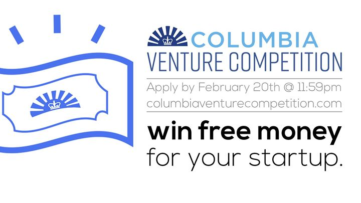 APPLY to the Columbia Venture Competition