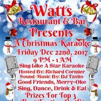 A Christmas Karaoke