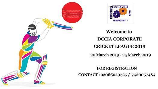 DCCIA Corporate Cricket League 2019.