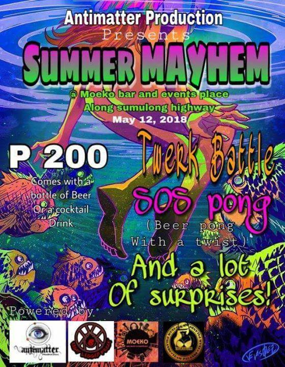 Summer Myhem Underground Party