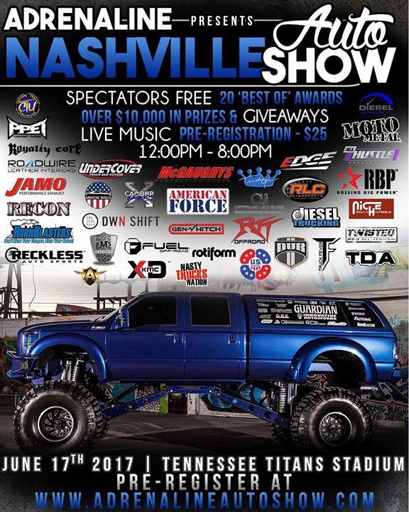 Adrenaline Auto Show At Nissan Stadium Nashville - Nashville car show