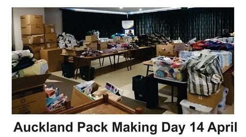 Auckland Pack Making Day