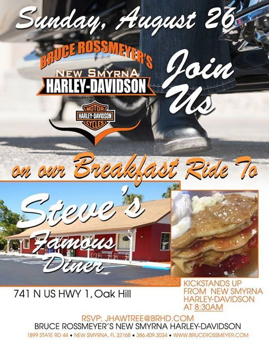 Monthly Breakfast Ride To Steves Diner At Bruce Rossmeyer S New