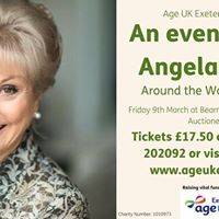 An evening with Angela Rippon - around the world in 50 years