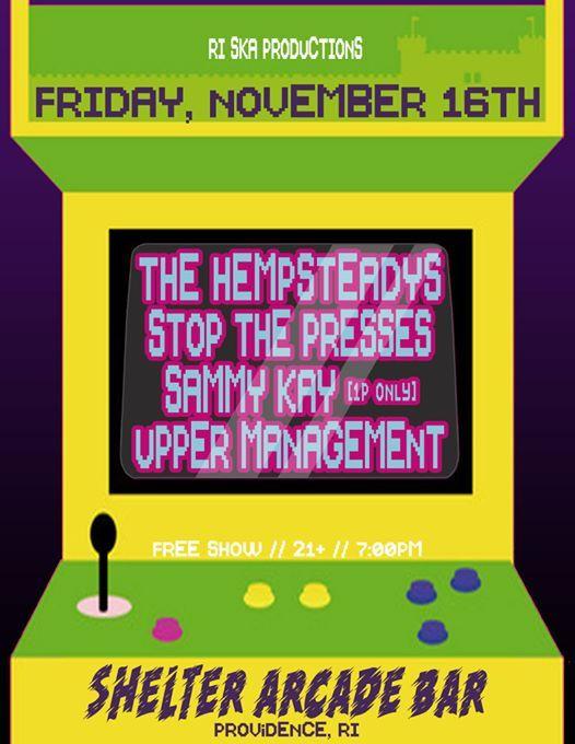 The Hempsteadys Stop The Presses Sammy Kay & Upper Management