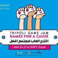 Tripoli Game Jam - Games for a cause