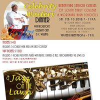 Celebrity Waiters Dinner &amp Jazz on the Lawn