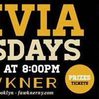 Trivia Tuesdays at Fawkner