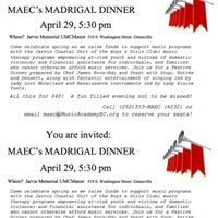 MAEC Madrigal Dinner