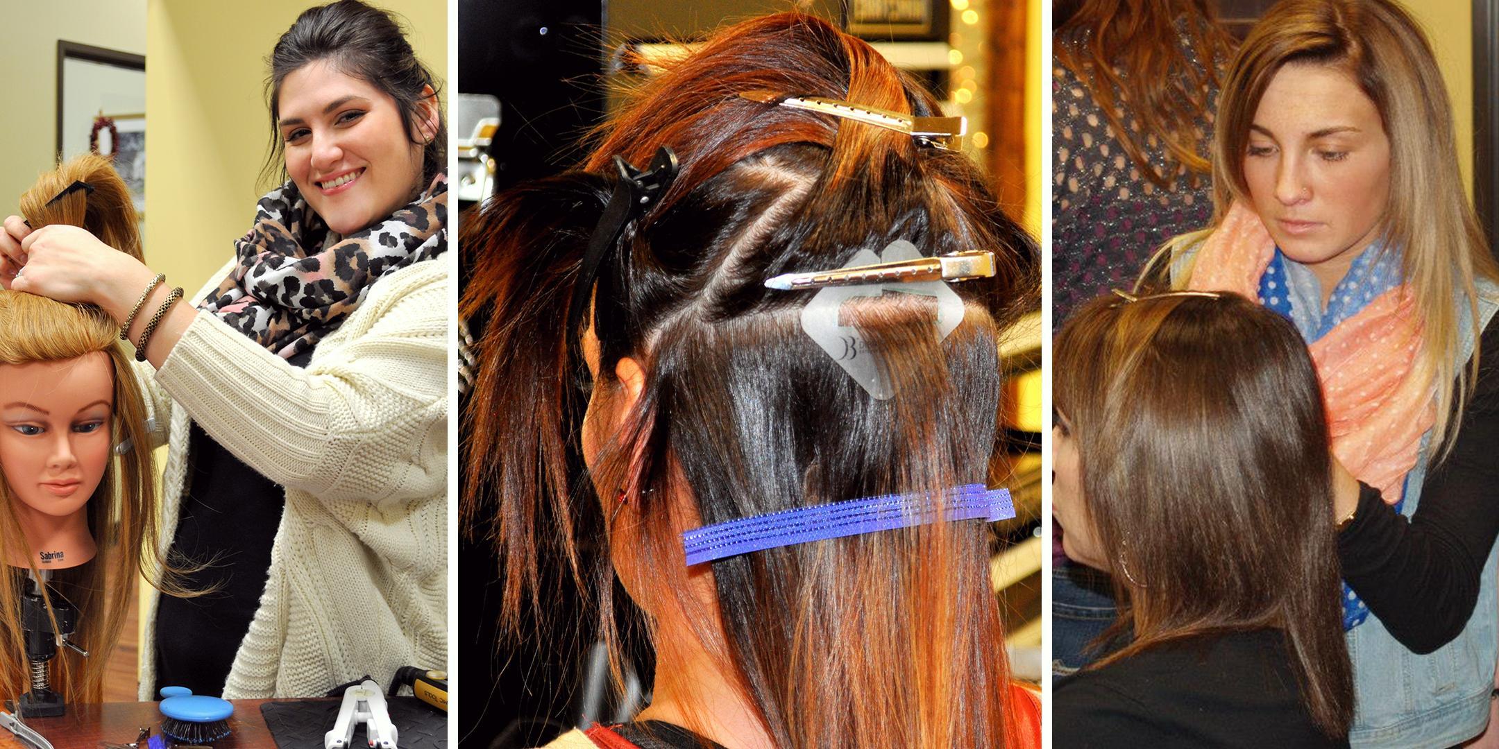 Long Beach Di Biase Hair Extensions Usa Certification Class At Long