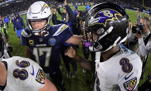 Wild Card Wknd Chargers  Ravens