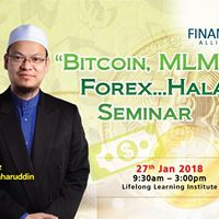 Bitcoin MLM Forex...Halal Seminar