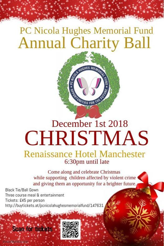 PC Nicola Hughes Memorial Fund Annual Ball 2018